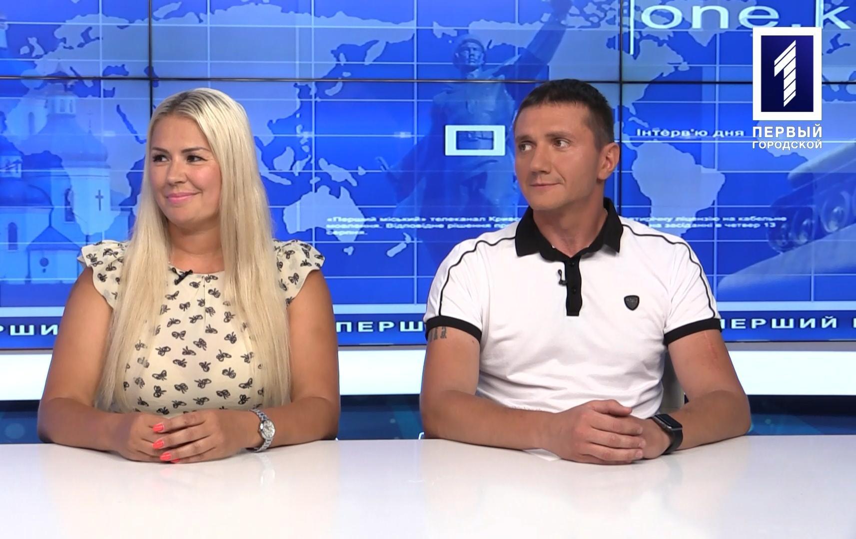 Інтерв'ю дня: Олексій Павлюк та Олена Фединяк – президент та віце-президентка асоціації волейболу Кривого Рогу