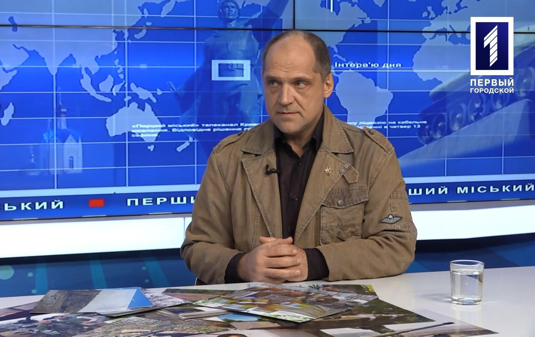 Інтерв'ю дня: військовий репортер Олексій Кущ