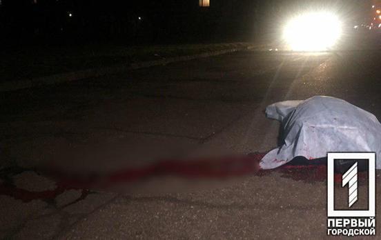 В Кривом Роге иномарка насмерть сбила женщину