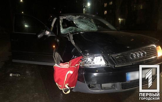В Кривом Роге автомобиль наехал на группу людей: двое погибших