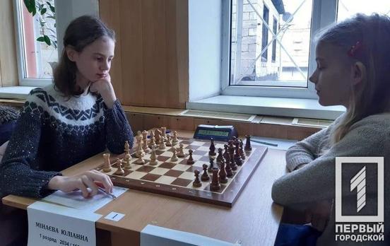 Школьница из Кривого Рога вошла в десятку лучших шахматисток Украины