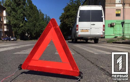 Утром в Кривом Роге микроавтобус сбил женщину