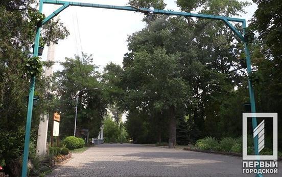 Первая в городе: в одном из парков Кривого Рога заработала охлаждающая рамка