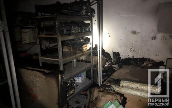 Ночью в Кривом Роге горело отделение «Новой почты»